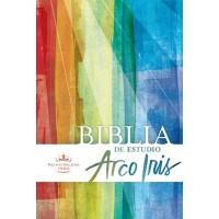 BIBLIA DE ESTUDIO ARCO IRIS MULTICOLOR TAPA DURA RVR1960