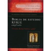 BIBLIA DE ESTUDIO RYRIE AMPLIADA TAPA DURA RVR1960