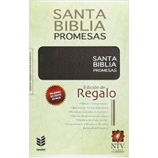 Biblia de Promesas NTV Edición de Regalo - Negro