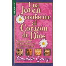 Una Joven conforme al Corazón de Dios, Guía para jóvenes sobre los amigos, la fe, la familia y el futuro, Elizabeth George, Serie favoritos, tamaño bolsillo