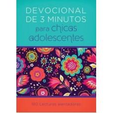 Devocionales de 3 minutos para chicas adolescentes: 180 lecturas alentadoras