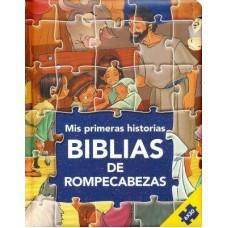 BIBLIA DE ROMPECABEZAS MIS PRIMERAS HISTORIAS
