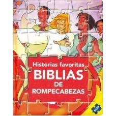 BIBLIA DE ROMPECABEZAS HISTORIAS FAVORITAS