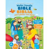 BIBLIA PARA PINTAR CON AGUA TAPA DURA BILINGUE