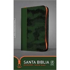 BIBLIA NTV BOSQUE EDICION ZIPPER