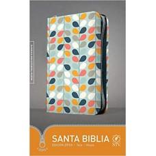 BIBLIA NTV HOJAS EDICION ZIPPER