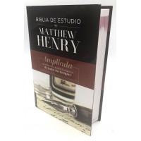 Biblia de Estudio Matthew Henry Tapa Dura