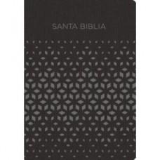 Santa Biblia para Regalos y Premios, Reina-Valera 1960, imitación piel, negro y gris