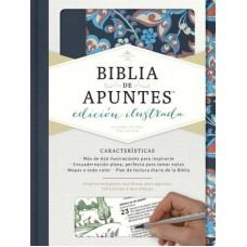 Biblia de Apuntes Rosado y Azul