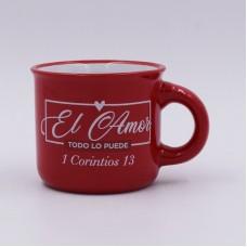 """Taza """"El Amor"""" (1 Corintios 13)"""