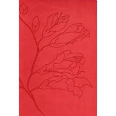 RVR 1960 Biblia Tamaño Personal capullos naranja símil piel