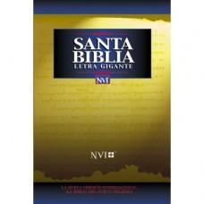 NVI Santa Biblia letra gigante - Letra Grande