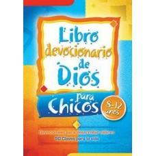 Libro Devocionario de Dios para Chicos, 8 a 12 años, Devocionales para desarrollar valores, 90 claves para la vida